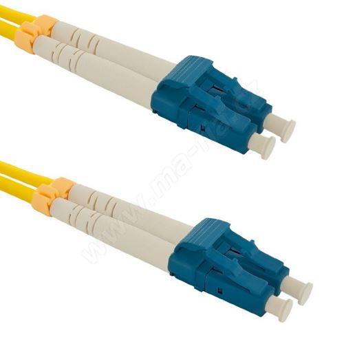 Patch cord LC/UPC-LC/UPC Duplex 9/125 1m