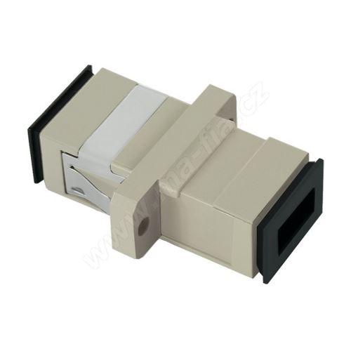 Adaptér optický SC-SC, Simplex, UPC/PC, multimode