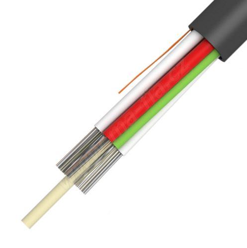 Kabel optický A-DQ2Y, 8x1,5, 96vl., 9/125, PE, 6,6mm, QM0I, MLT, KDP