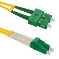 Patch cord LC/APC-SC/APC, Duplex, 9/125, 1m