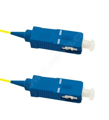 Pigtail SC/UPC-SC/UPC, oboustranně konek., 9/125 5m, G657A, volná ochrana EASY STRIP