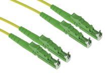 Patch cord E2000/APC-E2000/APC, Duplex, 09/125, 2x1,8mm, 1m