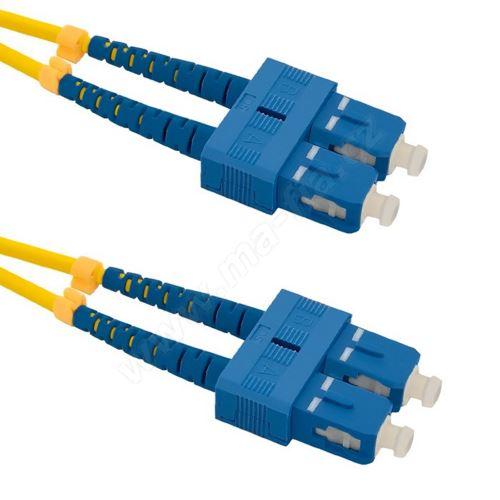 Patch cord SC/UPC-SC/UPC, Duplex, 9/125, 15m