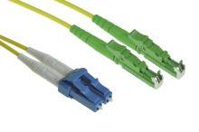 Patch cord E2000/APC-LC/PC, Duplex, 09/125, 2x1,8mm, 5m