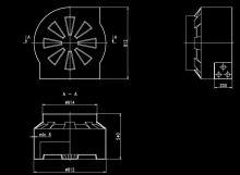 Kabelová komora Elplast vodotěsná, 614x812mm, nosnost 1,5 tun, hloubka 540 mm, vč. víka