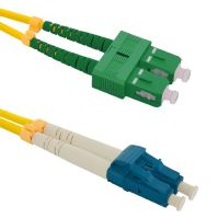 Patch cord SC/APC-LC/UPC Duplex 9/125 10m