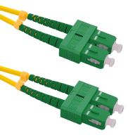 Patch cord SC/APC-SC/APC Duplex 9/125 1m