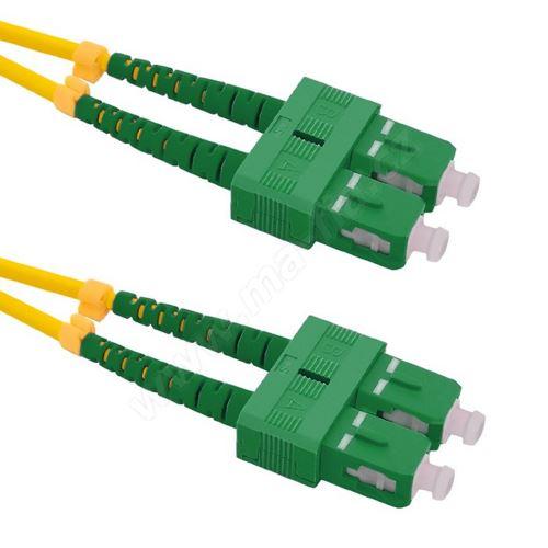Patch cord SC/APC-SC/APC Duplex 9/125 2m