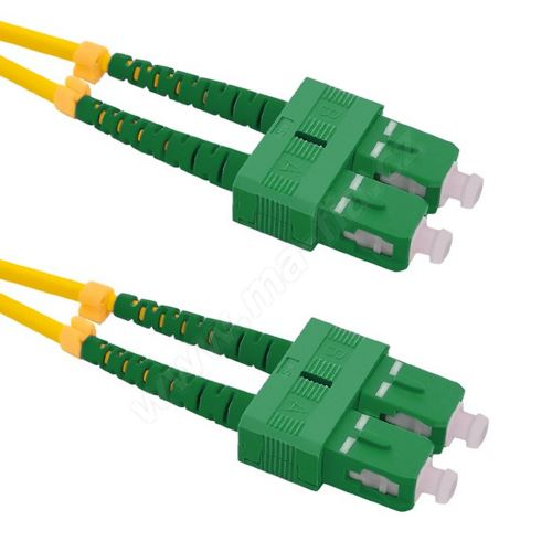 Patch cord SC/APC-SC/APC Duplex 9/125 5m
