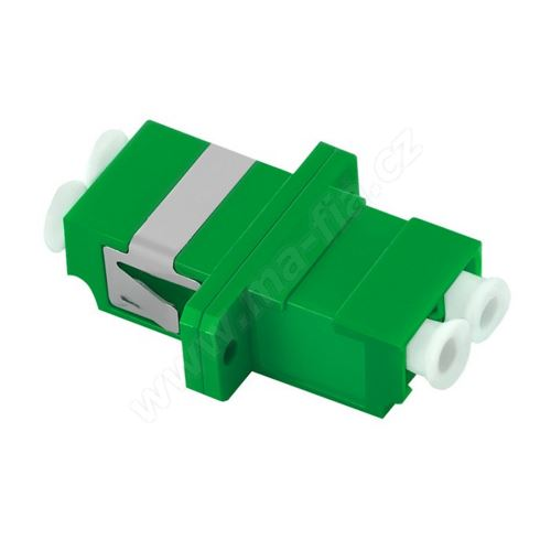Adaptér optický, LC-LC Duplex, APC, Singlemode