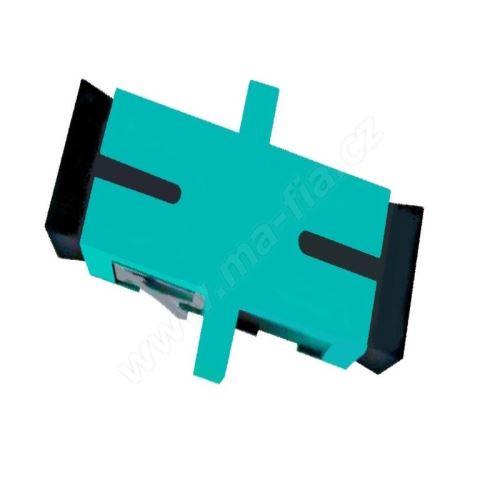 Adaptér optický SC-SC, Simplex, UPC/PC, multimode, OM3
