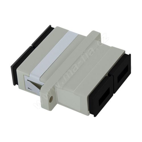 Adaptér optický SC-SC, Duplex, UPC/PC multimode