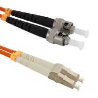 Patch cord LC/UPC-ST/PC Duplex 50/125 5m