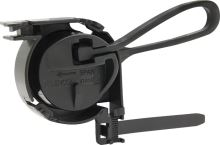 Kotva pro zavěšení kulatých FTTx kabelů 3-4 mm, s plastovým okem a st.páskem, typ Telenco