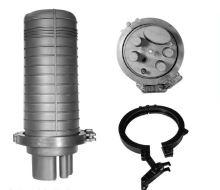 Spojka hrncová pro max. 144 vl., 4x kruhový vstup, 1 oválný vstup, vybavená pro 24 svarů