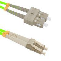 Patch cord LC/UPC-SC/UPC Duplex 50/125 2m, OM5