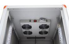 Legrand Evoline ventilační jednotka horní montáž 4 ventilátory + termostat