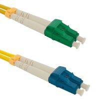 Patch cord LC/APC-LC/UPC, Duplex, 9/125, 2m