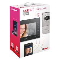 Easy kit - vstupní sada s Wi-Fi video telefonem, Legrand, černá