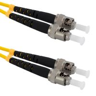 Patch cord ST/PC-ST/PC Duplex 9/125 3m
