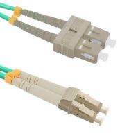 Patch cord LC/UPC-SC/UPC Duplex 50/125 1m, OM3