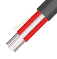 Kabel optický, A-D2YT, Flat DROP,48 vl.,9/125, černý,2500N,plochý kabel 12,5x5,5mm,KDP