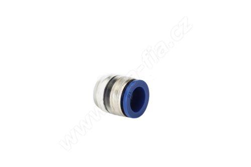 Koncovka mikrotrubičky 10 mm, přímá s metalickou vložkou, High-End