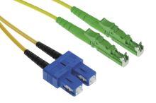 Patch cord E2000/APC-SC/PC, Duplex, 09/125, 2x1,8mm, 2m