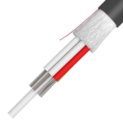 Kabel optický A-DF(ZN)2Y  WBF  4x1G50/125  BLK, PE01, KDP
