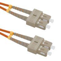 Patch cord SC/UPC-SC/UPC Duplex 50/125 1m