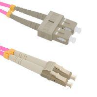 Patch cord LC/UPC-SC/UPC Duplex 50/125 1m, OM4