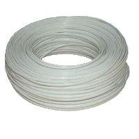 Kabel telefonní kabel 6-žilový lanko 100m bílý