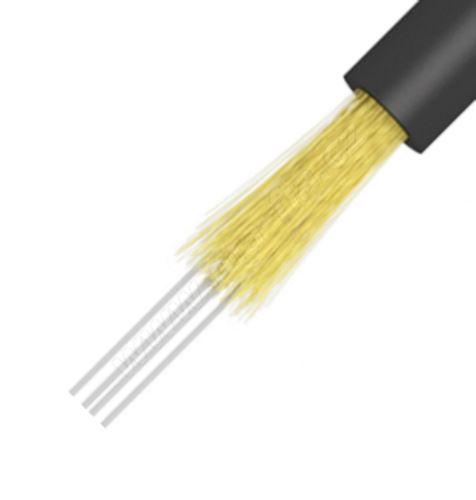 Kabel optický, J/A-(ZN)H, FTTx DROP, 24vl., 9/125, G657A, LSOH, 4mm, Eca, KDP