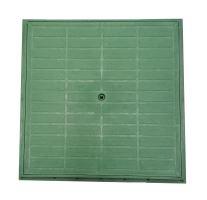 Víko plastové s rámem pro komory Hidrostank, 350x350mm, bez zamykání, barva zelená