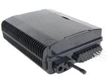 Optický box, IP44, výkl. management 24 svárů, 24xSC, průběžné vstupy, 265x345x110mm