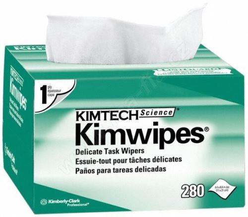 Čistící ubrousky Kim Wipes, bezprašné, 280ks/bal.