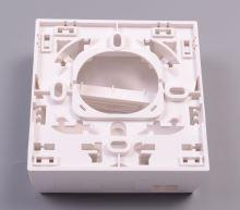 Zásuvka optická 3M, na omítku hybridní, 8686, 86x86x34mm