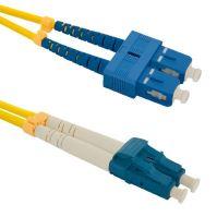 Patch cord LC/UPC-SC/UPC Duplex 9/125 1m