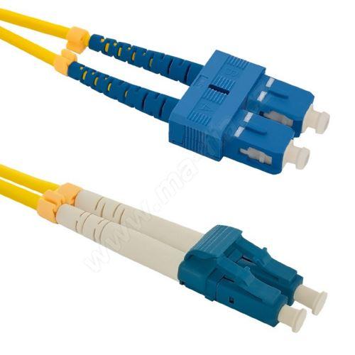Patch cord LC/UPC-SC/UPC Duplex 9/125 10m