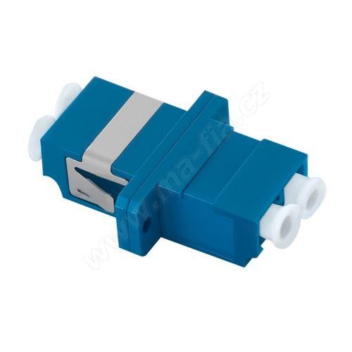 Adaptér optický LC-LC, Duplex ,UPC/PC, Singlemode